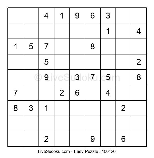 Beginners Puzzle #100426