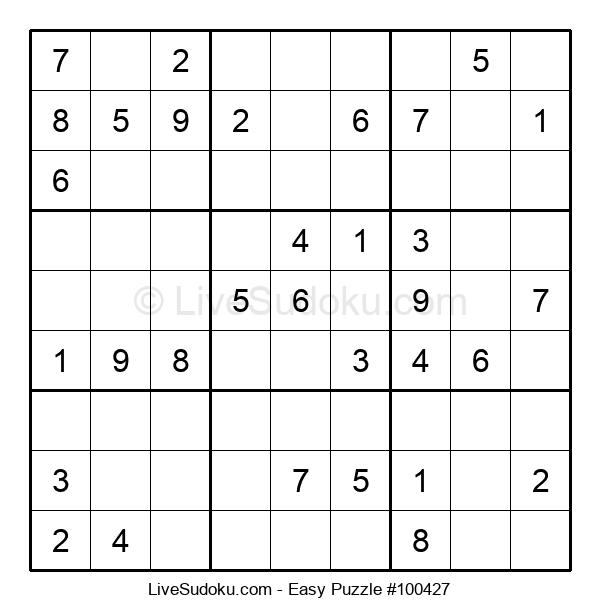 Beginners Puzzle #100427