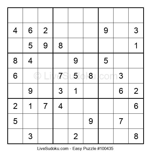 Beginners Puzzle #100435