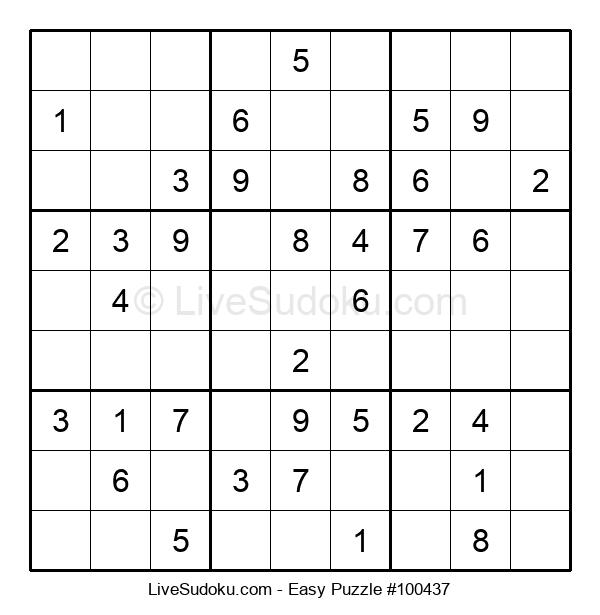 Beginners Puzzle #100437