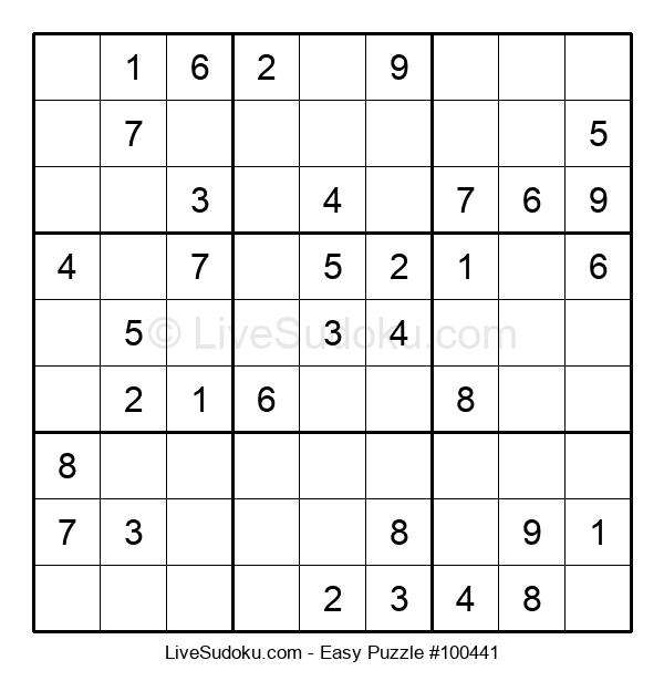 Beginners Puzzle #100441