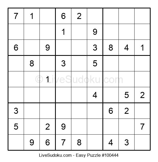 Beginners Puzzle #100444