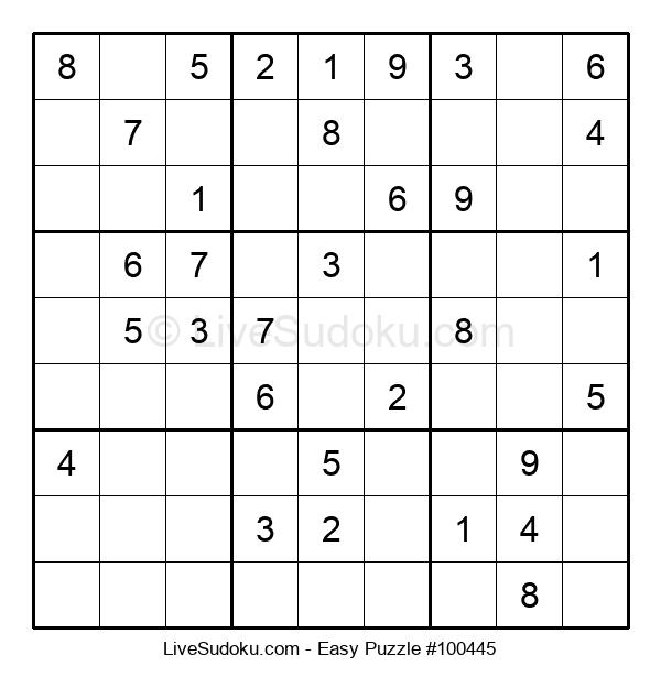 Beginners Puzzle #100445