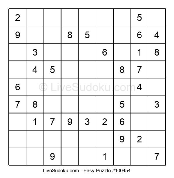 Beginners Puzzle #100454