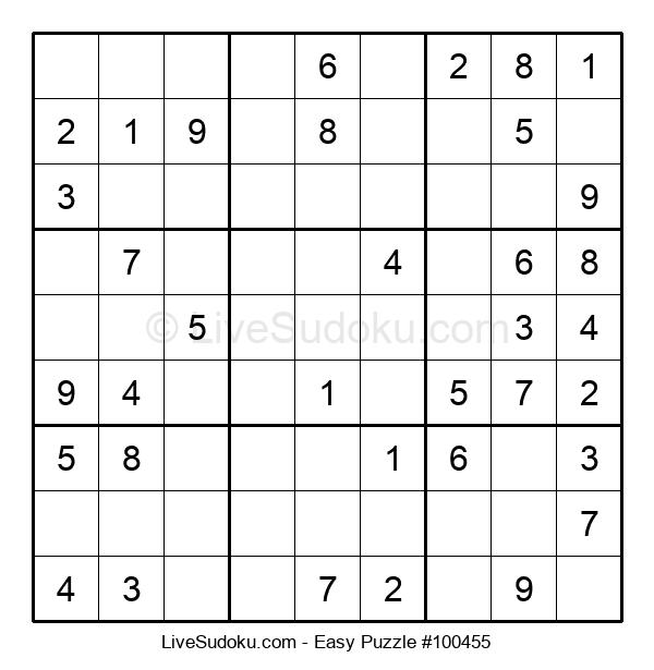Beginners Puzzle #100455