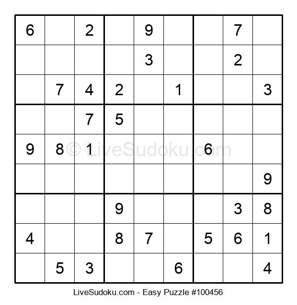 Beginners Puzzle #100456