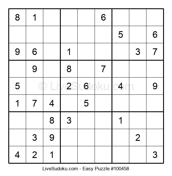 Beginners Puzzle #100458