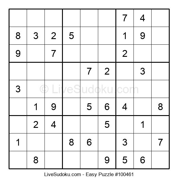 Beginners Puzzle #100461