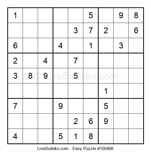 Beginners Puzzle #100468
