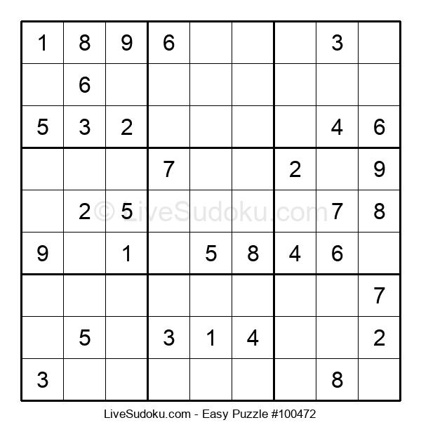 Beginners Puzzle #100472
