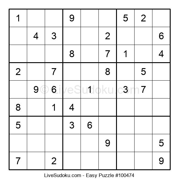 Beginners Puzzle #100474