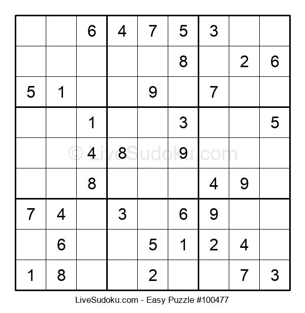 Beginners Puzzle #100477