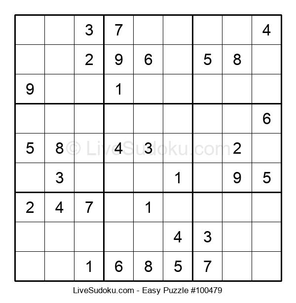 Beginners Puzzle #100479