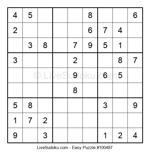 Beginners Puzzle #100487