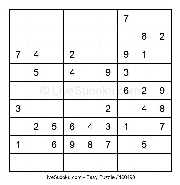 Beginners Puzzle #100490