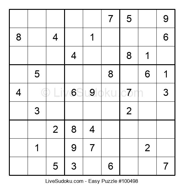 Beginners Puzzle #100498