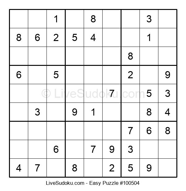 Beginners Puzzle #100504
