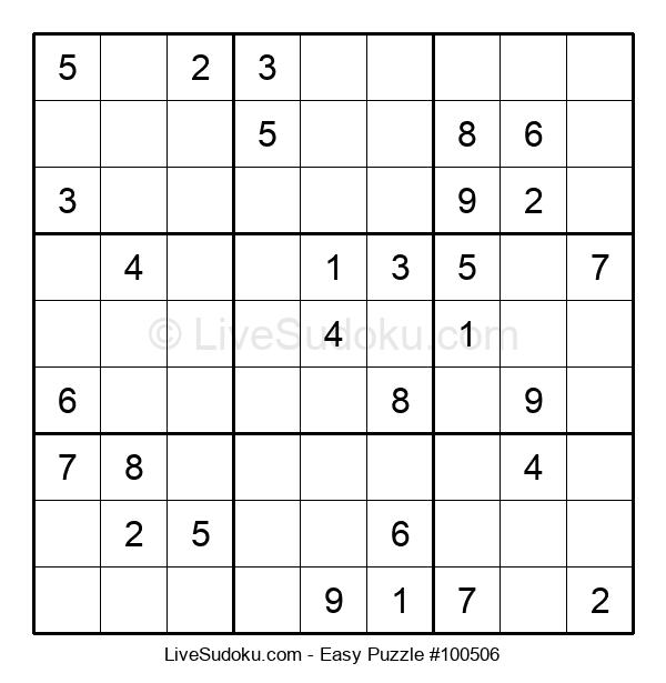 Beginners Puzzle #100506