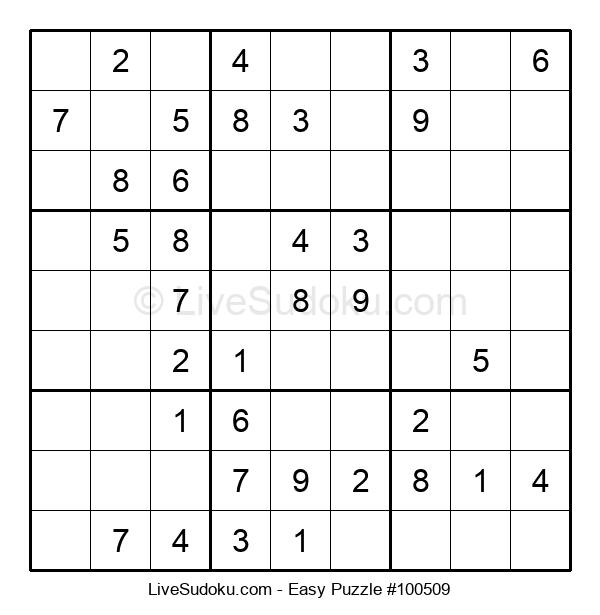 Beginners Puzzle #100509