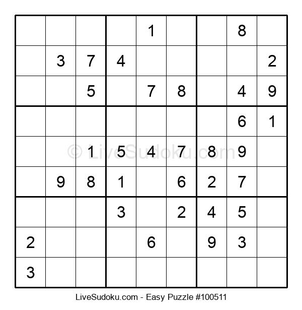 Beginners Puzzle #100511