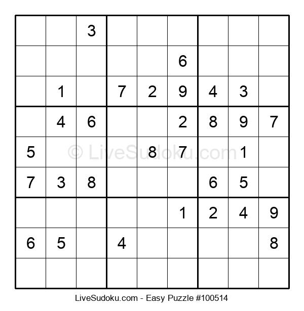 Beginners Puzzle #100514
