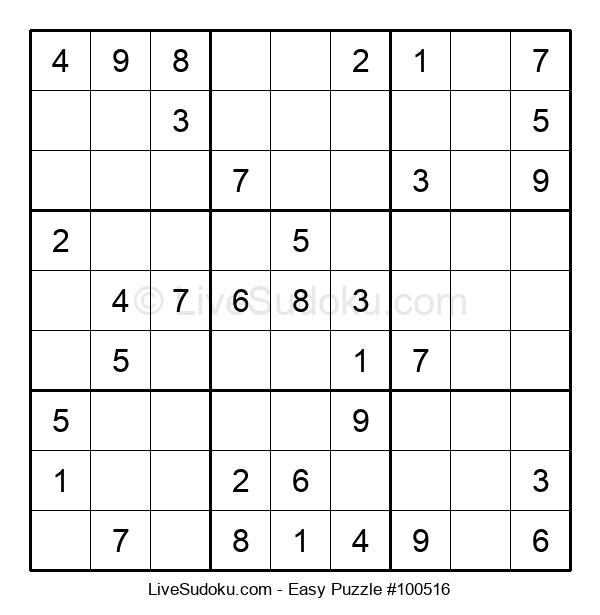 Beginners Puzzle #100516