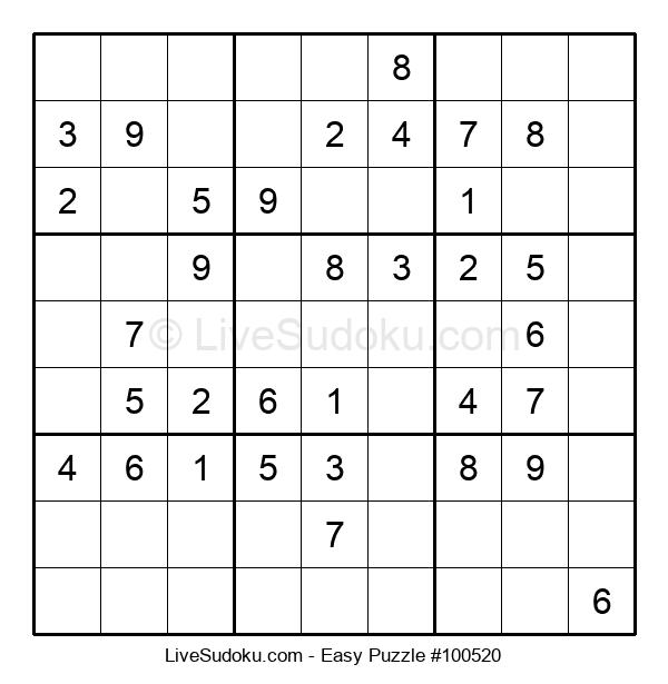Beginners Puzzle #100520
