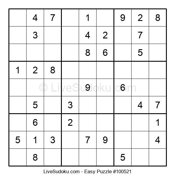 Beginners Puzzle #100521
