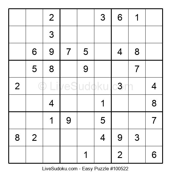 Beginners Puzzle #100522