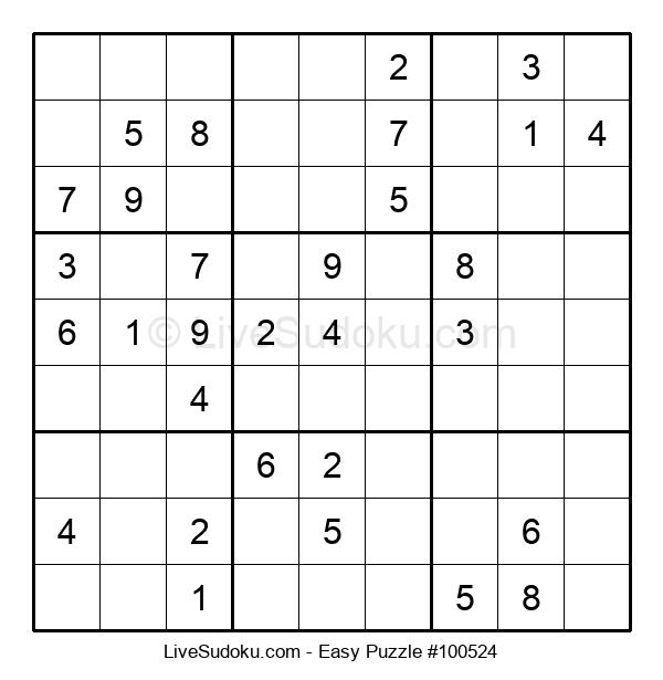 Beginners Puzzle #100524