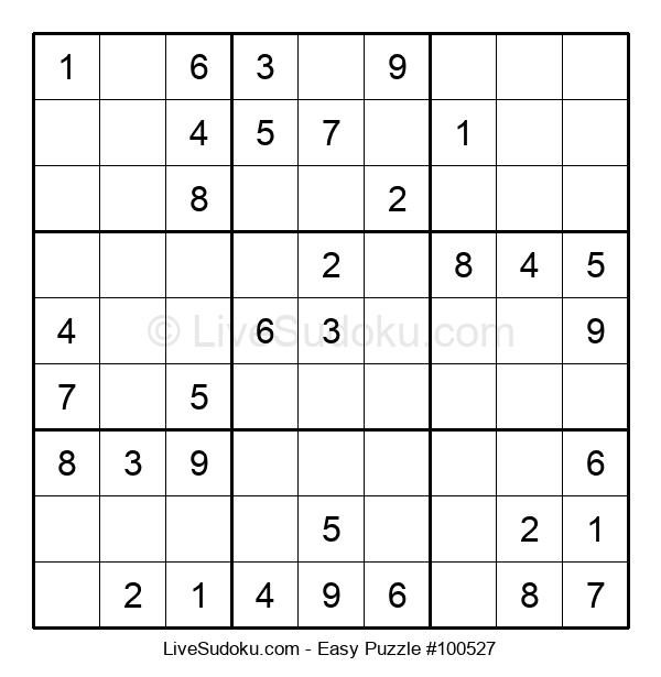 Beginners Puzzle #100527