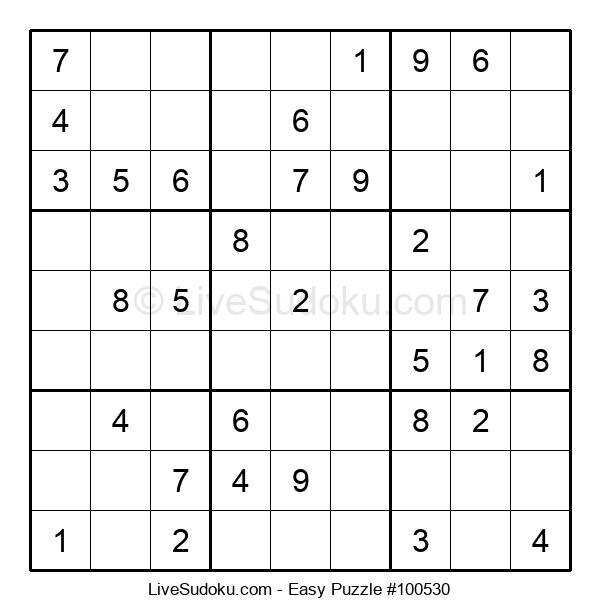 Beginners Puzzle #100530
