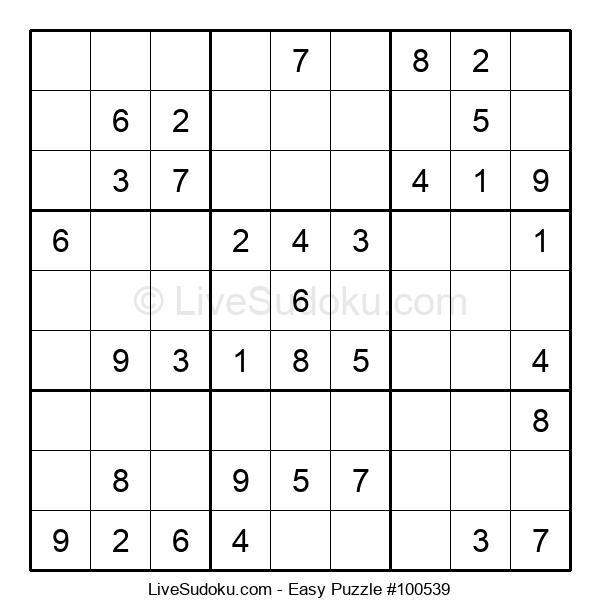 Beginners Puzzle #100539