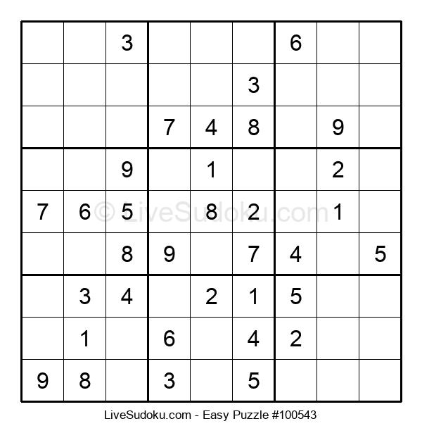 Beginners Puzzle #100543