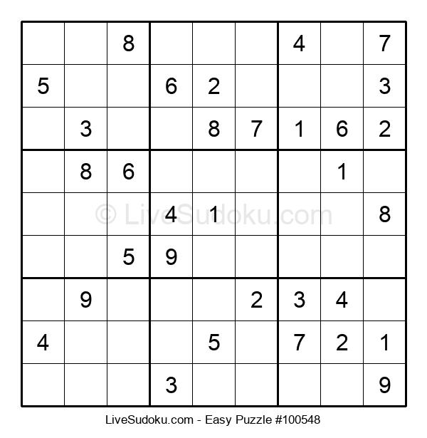 Beginners Puzzle #100548