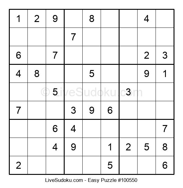 Beginners Puzzle #100550