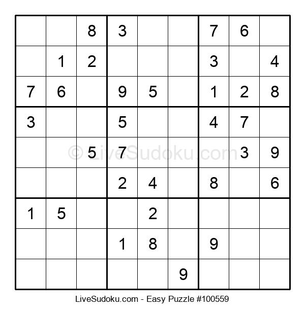 Beginners Puzzle #100559