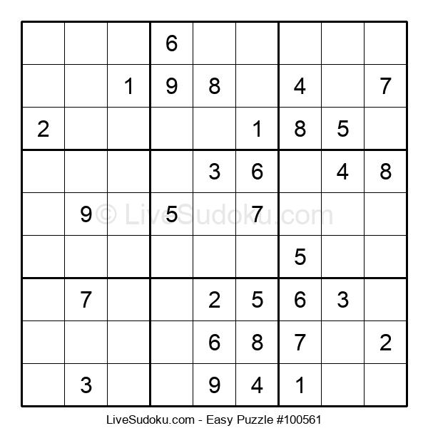 Beginners Puzzle #100561