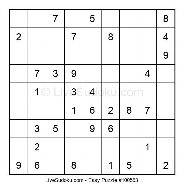 Beginners Puzzle #100563