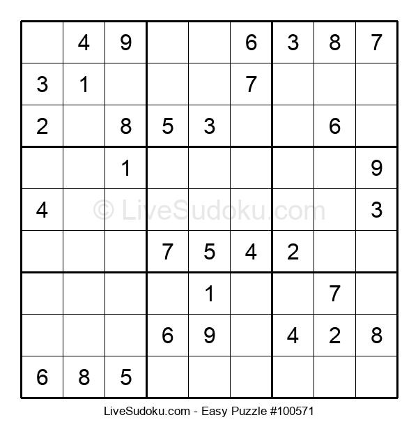 Beginners Puzzle #100571
