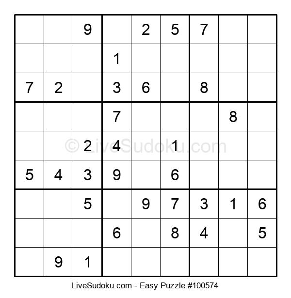 Beginners Puzzle #100574