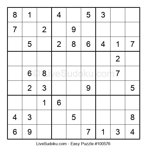 Beginners Puzzle #100576