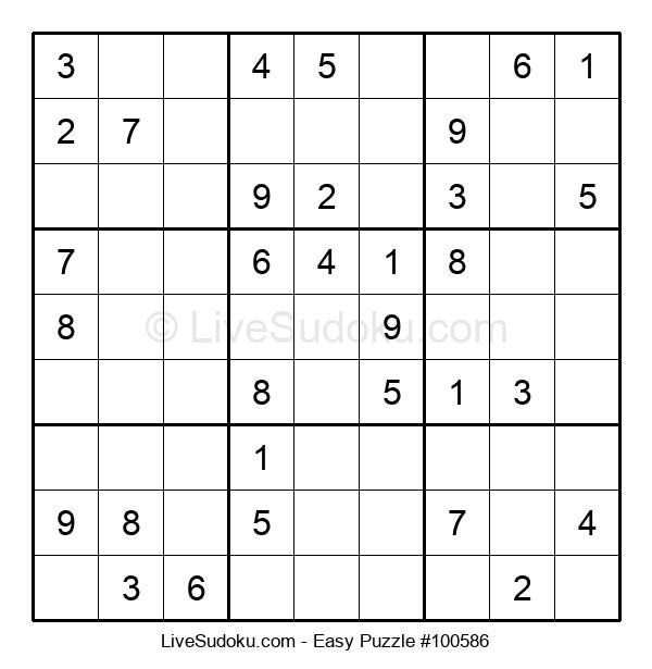 Beginners Puzzle #100586
