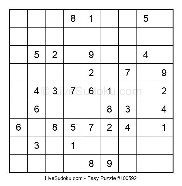 Beginners Puzzle #100592