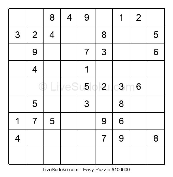 Beginners Puzzle #100600