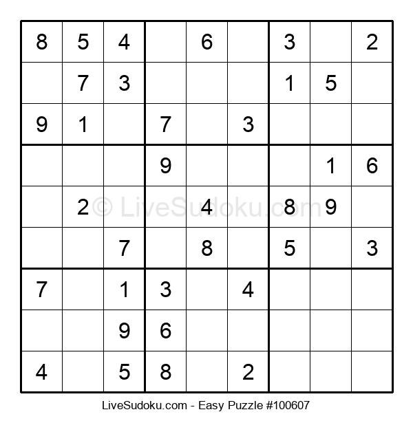 Beginners Puzzle #100607