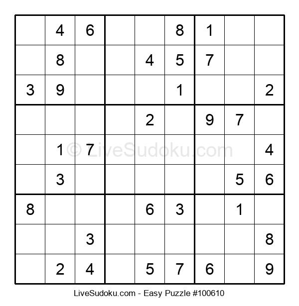 Beginners Puzzle #100610