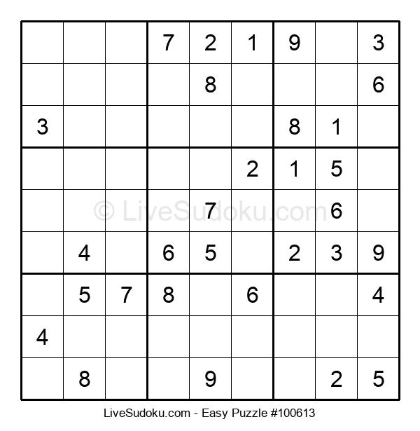 Beginners Puzzle #100613