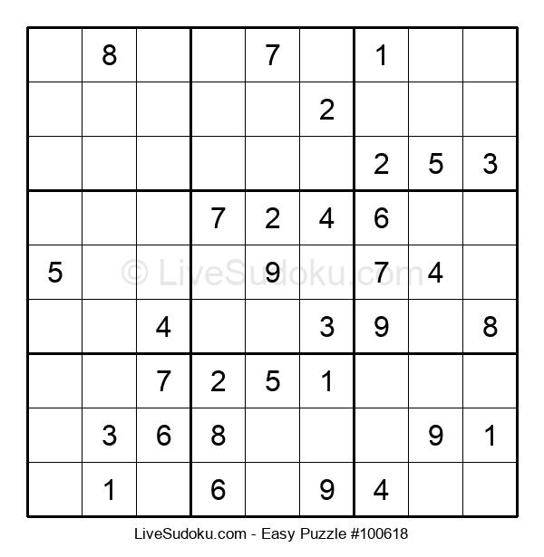 Beginners Puzzle #100618