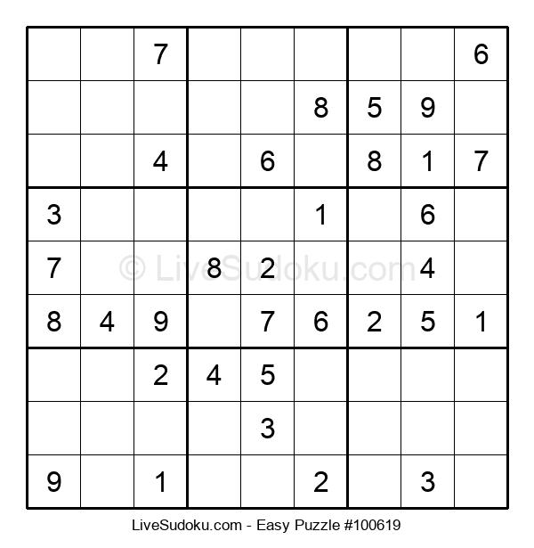 Beginners Puzzle #100619